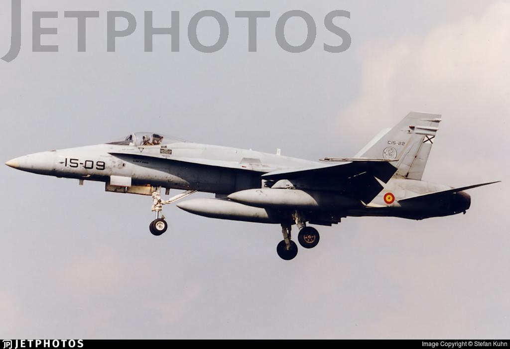 C.15-22 - McDonnell Douglas EF-18A+ Hornet - Spain - Air Force