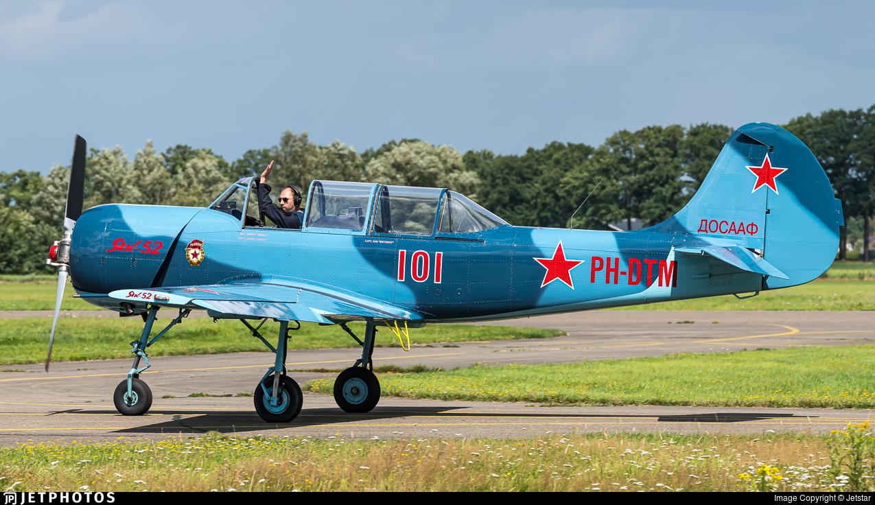 PH-DTM - Yakovlev Yak-52 - Private