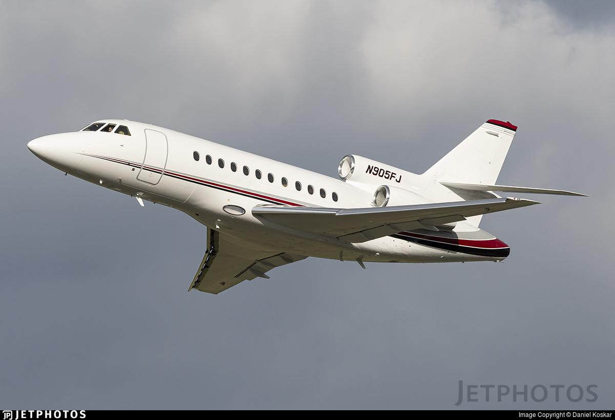 N905FJ - Dassault Falcon 900 - Private