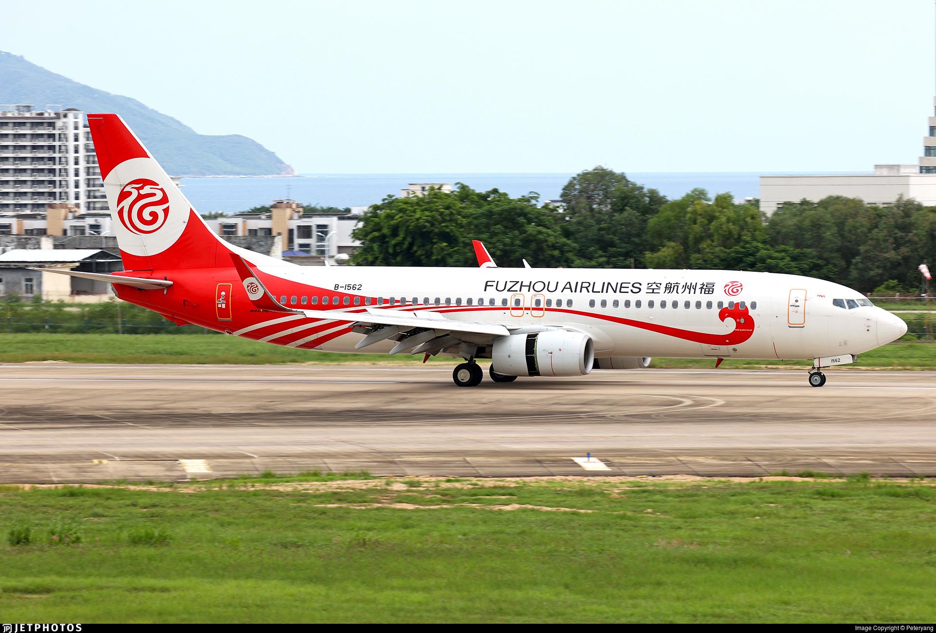 B-1562 - Boeing 737-86J - Fuzhou Airlines