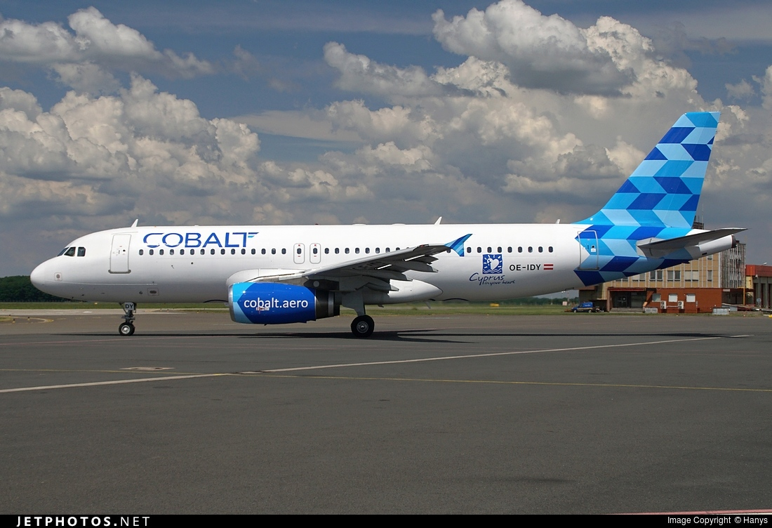 OE-IDY - Airbus A320-232 - Cobalt Air