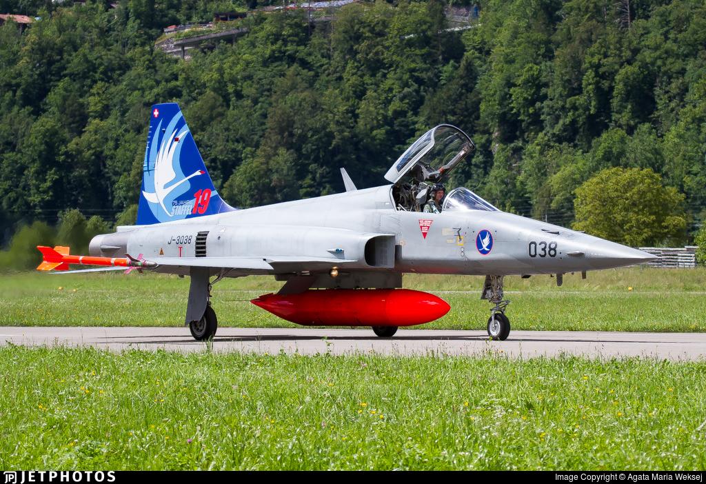 J-3038 - Northrop F-5E Tiger II - Switzerland - Air Force