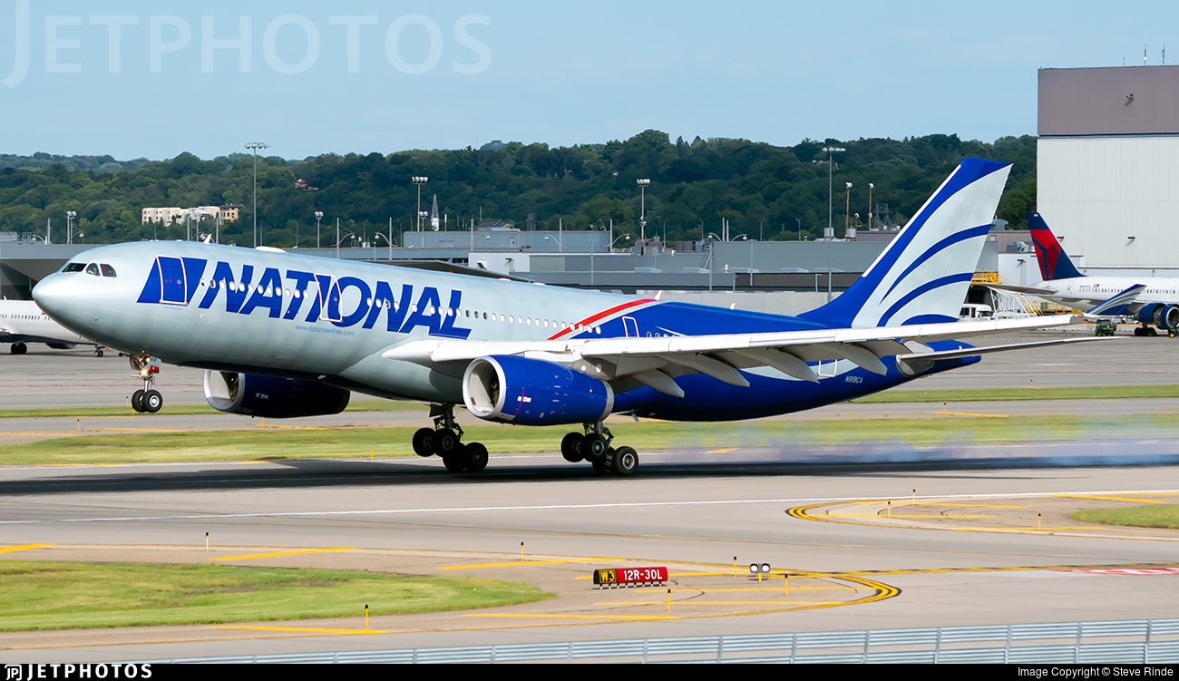 N819CA - Airbus A330-243 - National Airlines