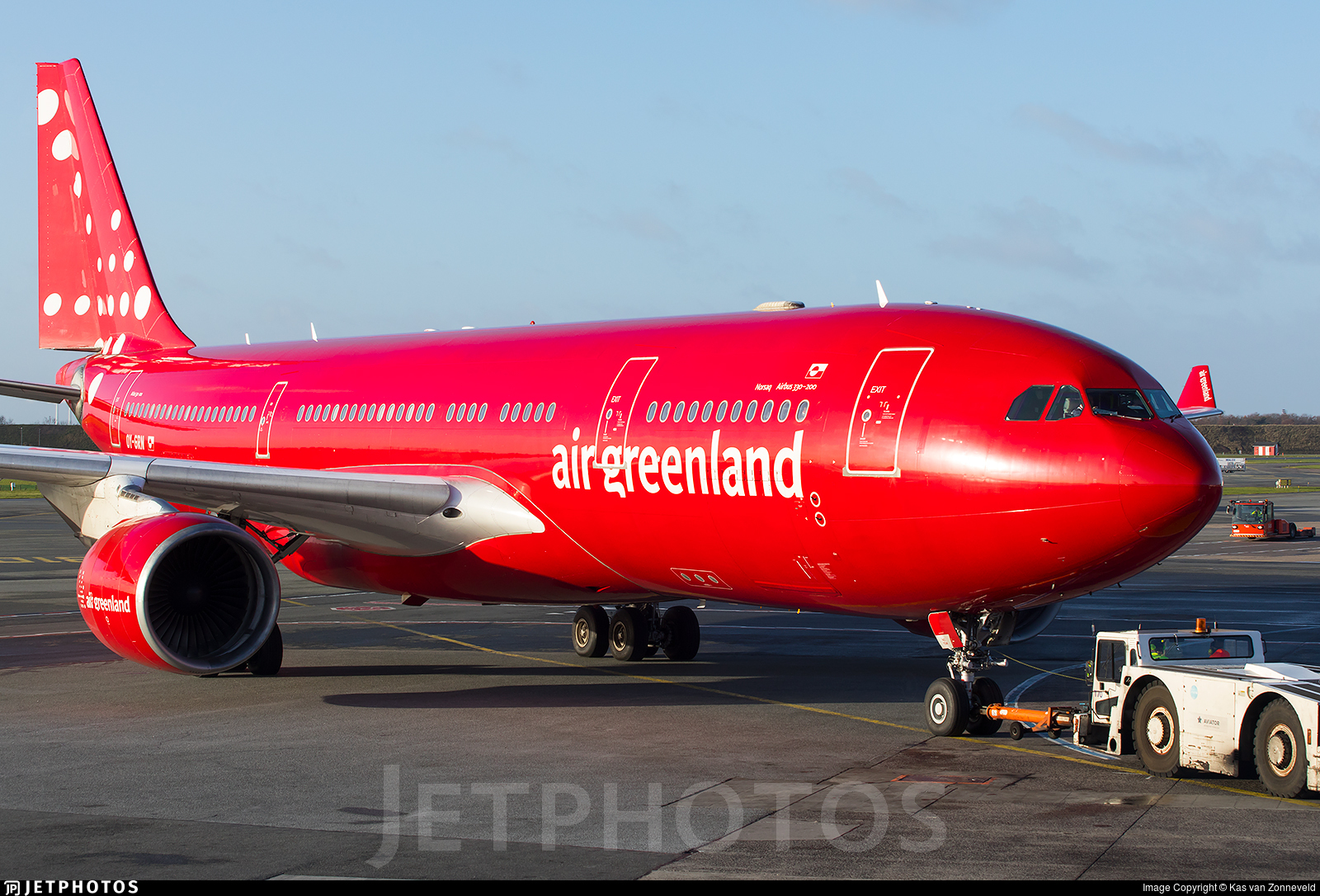 OY-GRN - Airbus A330-222 - Air Greenland