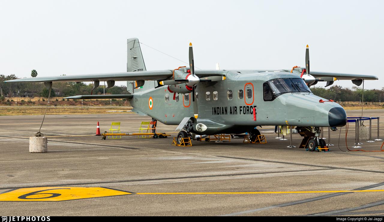 KD-720 - Hindustan Aeronautics 228-202K - India - Air Force