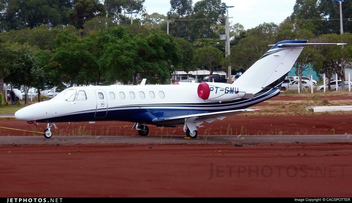 PT-GMU - Cessna 525 Citationjet CJ3 - Private