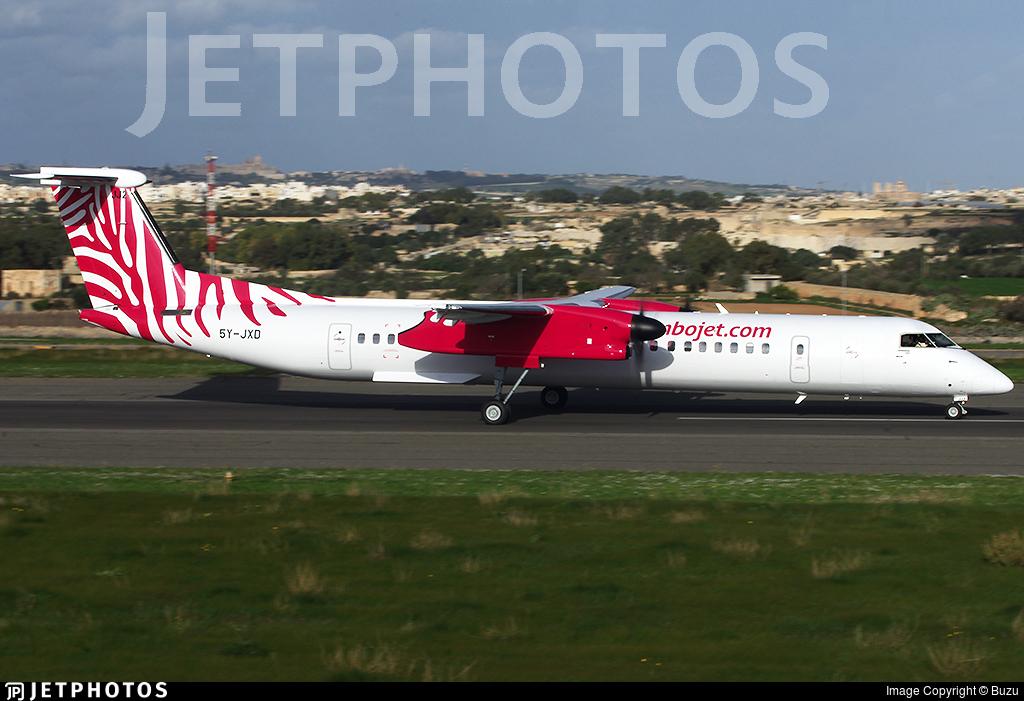 5Y-JXD - Bombardier Dash 8-Q402 - JamboJet