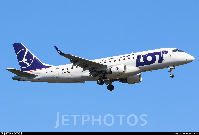 SP-LIB - Embraer 170-200STD - LOT Polish Airlines