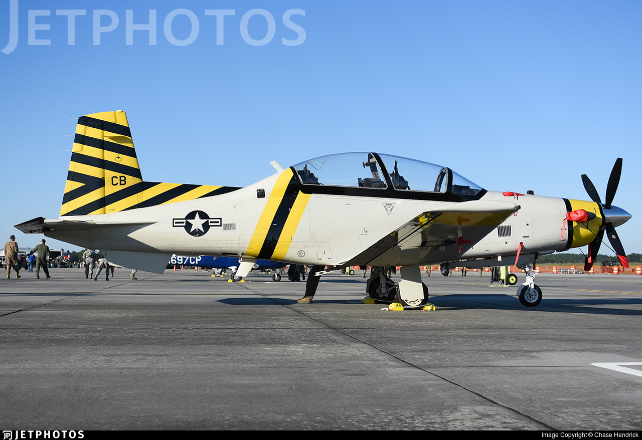 06-3837 - Raytheon T-6A Texan II - United States - US Air Force (USAF)