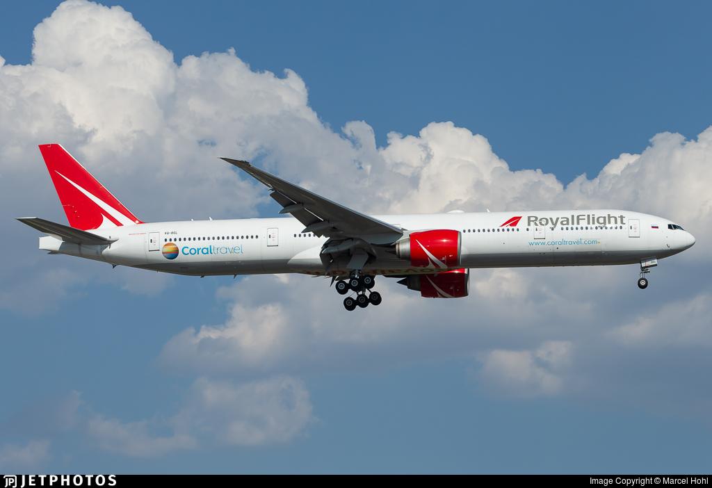 VQ-BGL - Boeing 777-31HER - Royal Flight