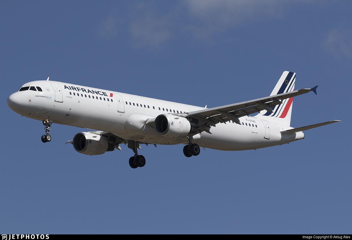 F-GTAS - Airbus A321-211 - Air France