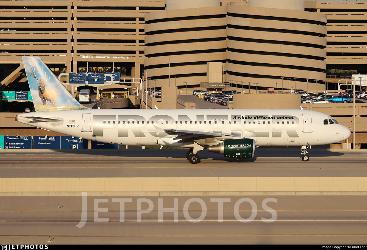 N213FR - Airbus A320-214 - Frontier Airlines