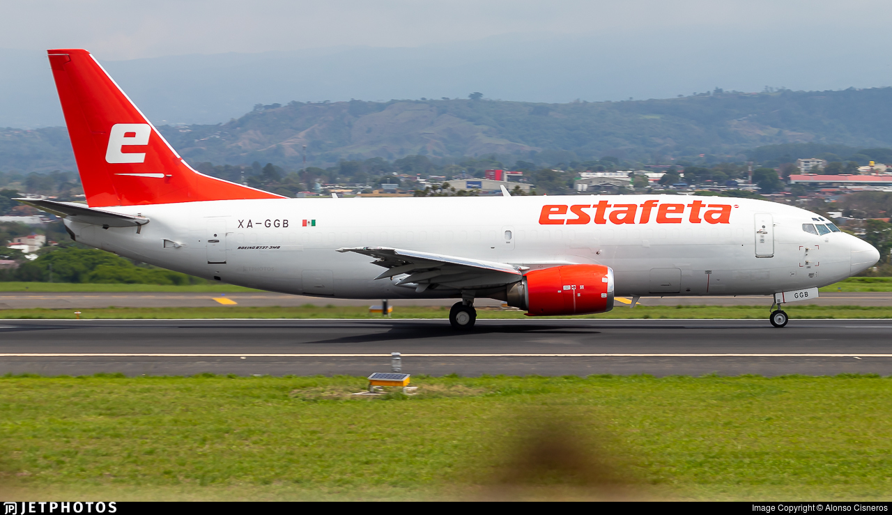 XA-GGB - Boeing 737-3M8(SF) - Estafeta Carga Aérea