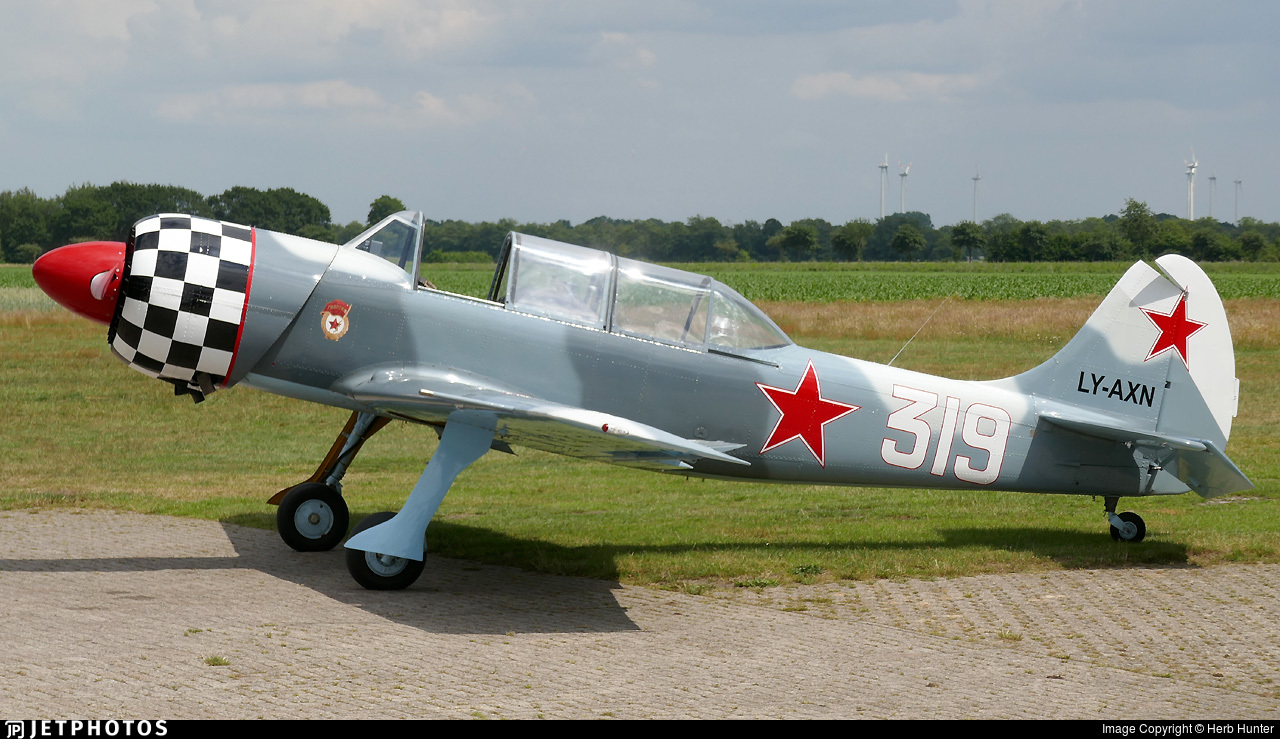LY-AXN - Yakovlev Yak-52TW - Private