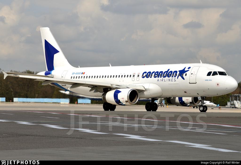 ER-00001 - Airbus A320-233 - FlyOne