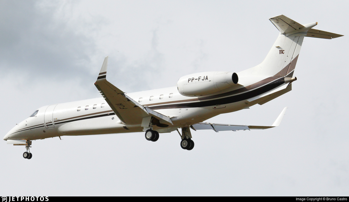 PP-FJA - Embraer ERJ-135BJ Legacy 650 - Neo Táxi Aéreo