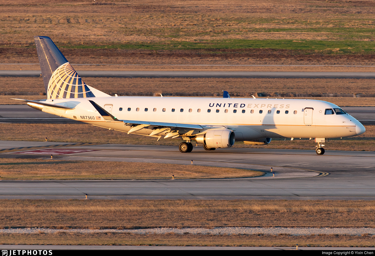 N87360 - Embraer 170-200LR - United Express (Mesa Airlines)