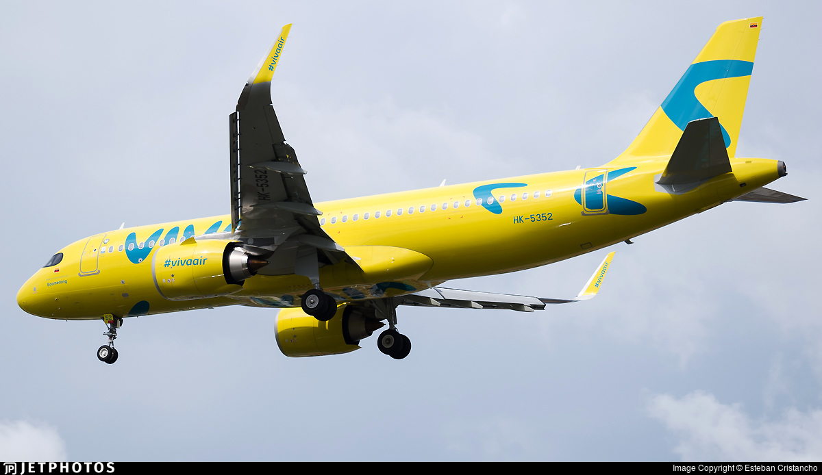 HK-5352 - Airbus A320-251N - Viva Air Colombia