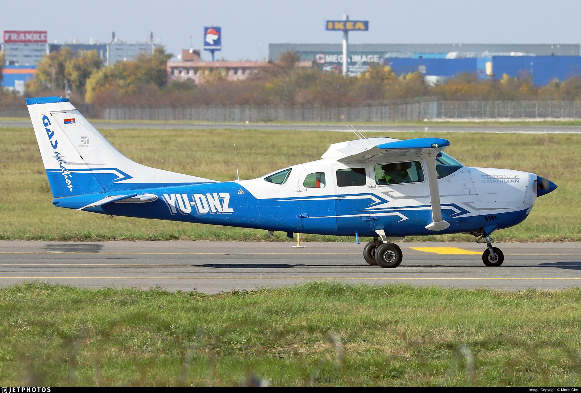 YU-DNZ - Cessna U206G Stationair - GAS Aviation