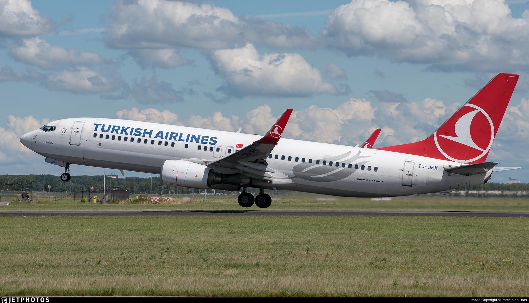 TC-JFM - Boeing 737-8F2 - Turkish Airlines