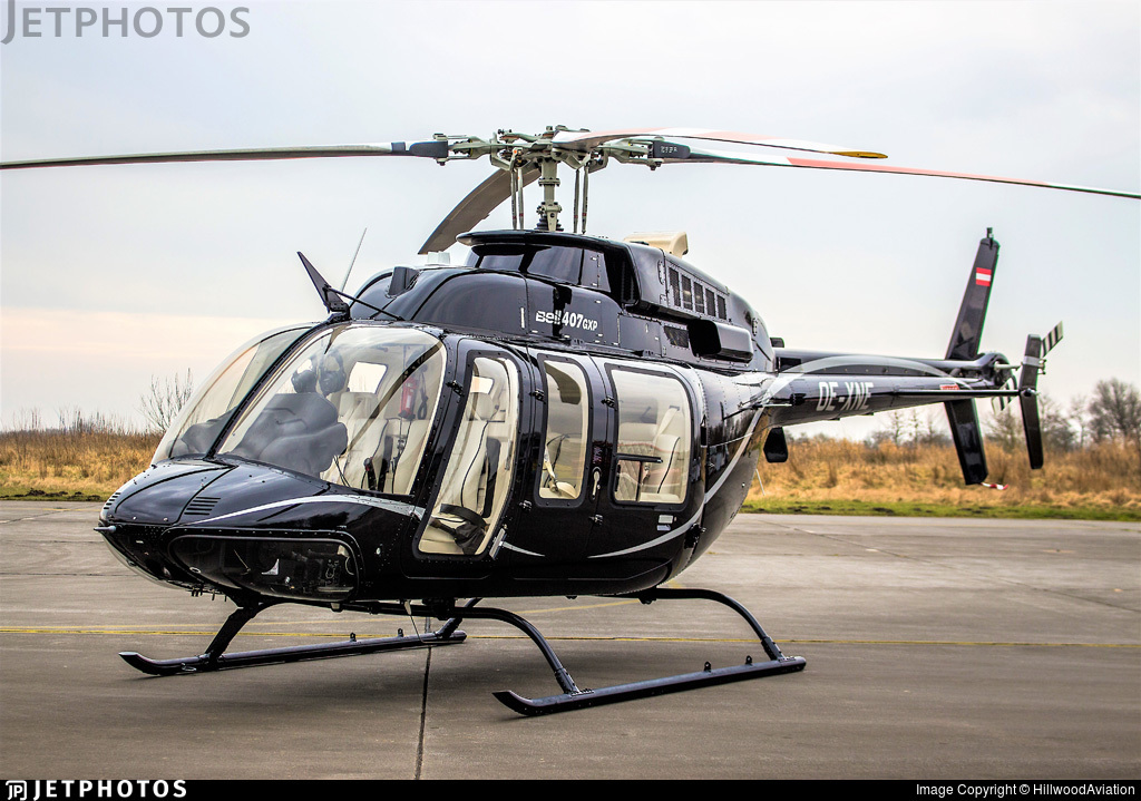 OE-XNE - Bell 407GX - HHS - Hanseatic Helicopter Service