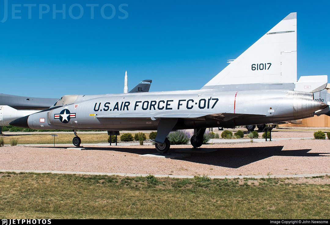 56-1017 - Convair F-102A Delta Dagger - United States - US Air Force (USAF)