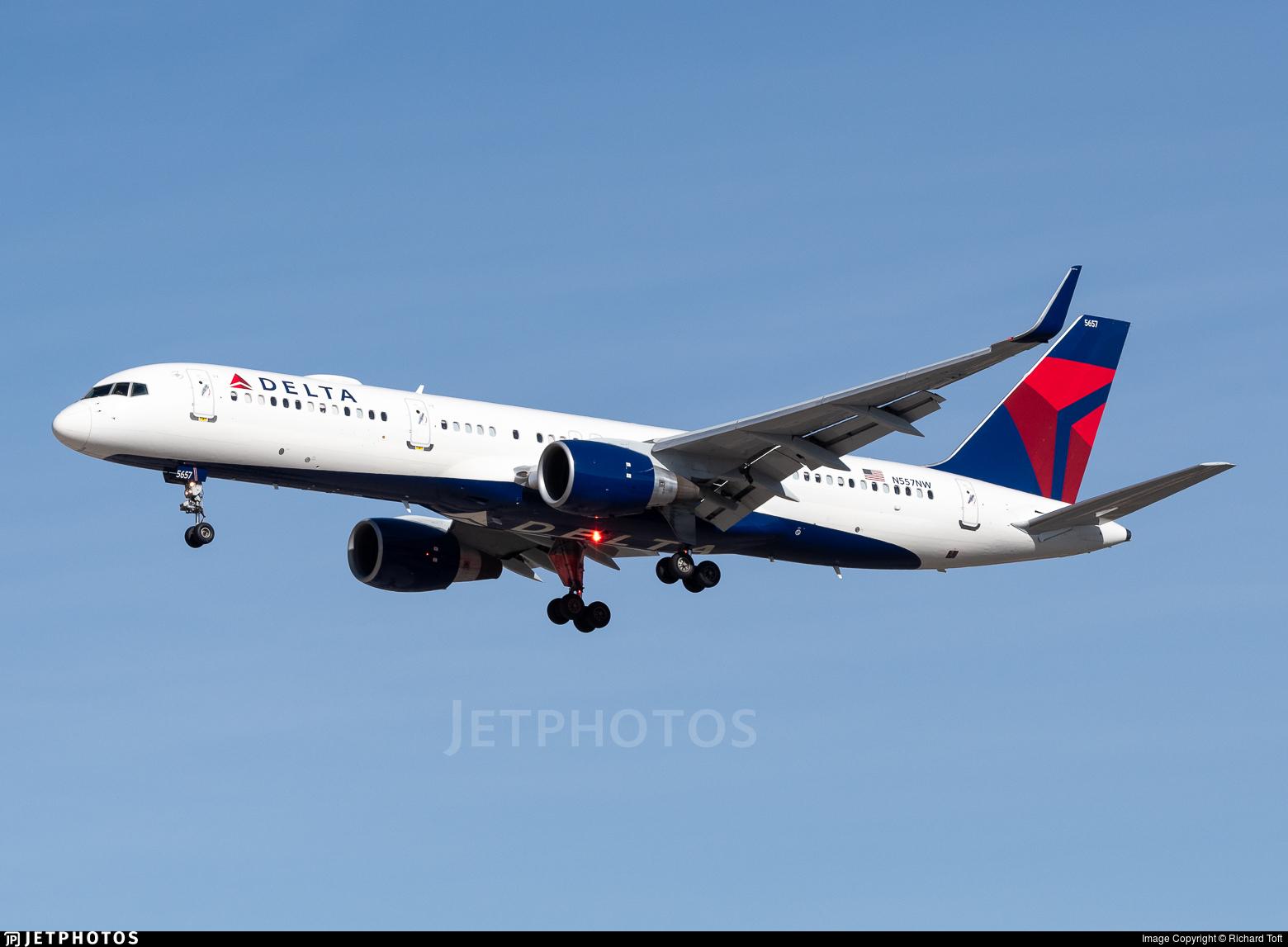 N557NW - Boeing 757-251 - Delta Air Lines