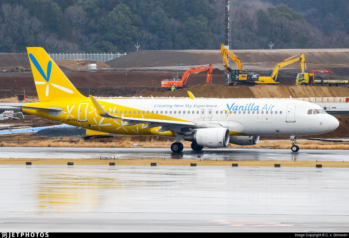 JA07VA - Airbus A320-214 - Vanilla Air
