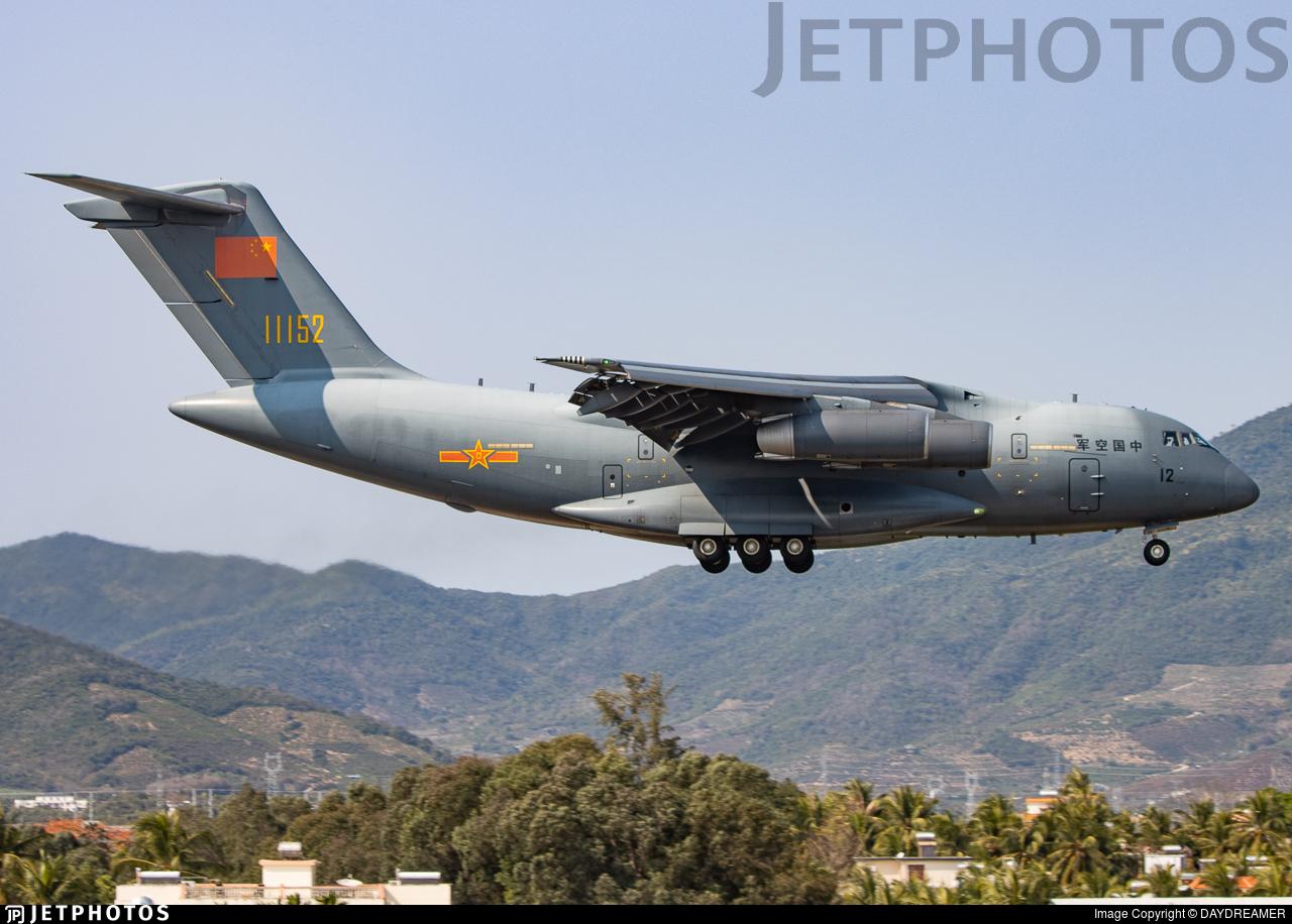 11152 - Xian Y-20A - China - Air Force