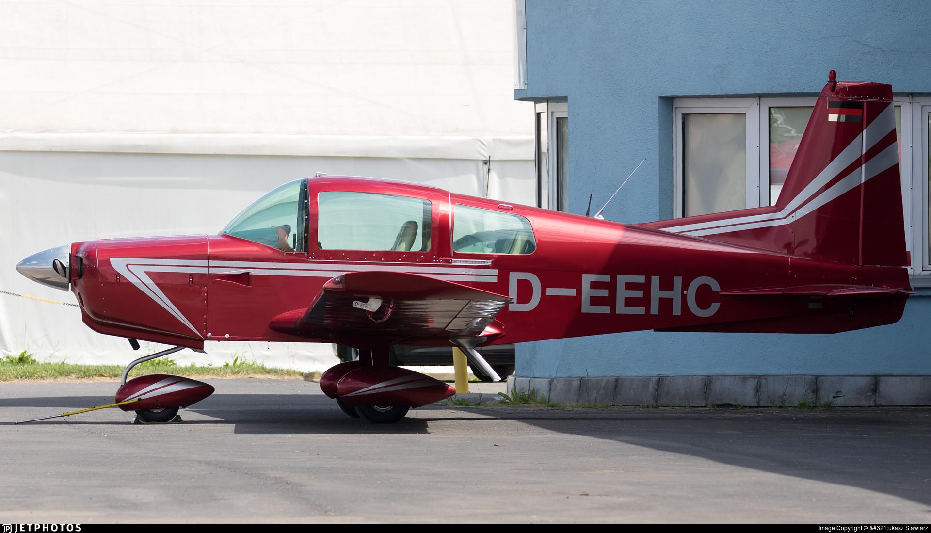 D-EEHC   Grumman American AA-5 Traveller   Private   Łukasz Stawiarz