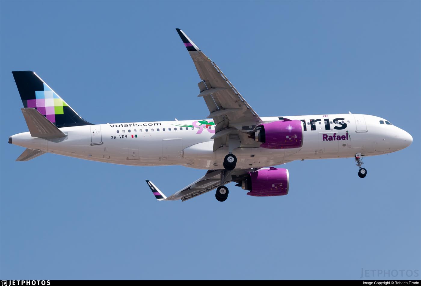 XA-VRV - Airbus A320-271N - Volaris