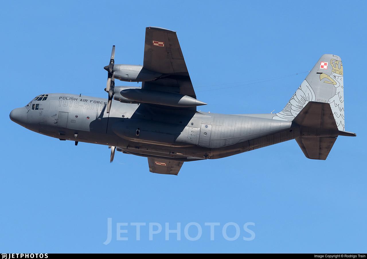 1504 - Lockheed C-130E Hercules - Poland - Air Force