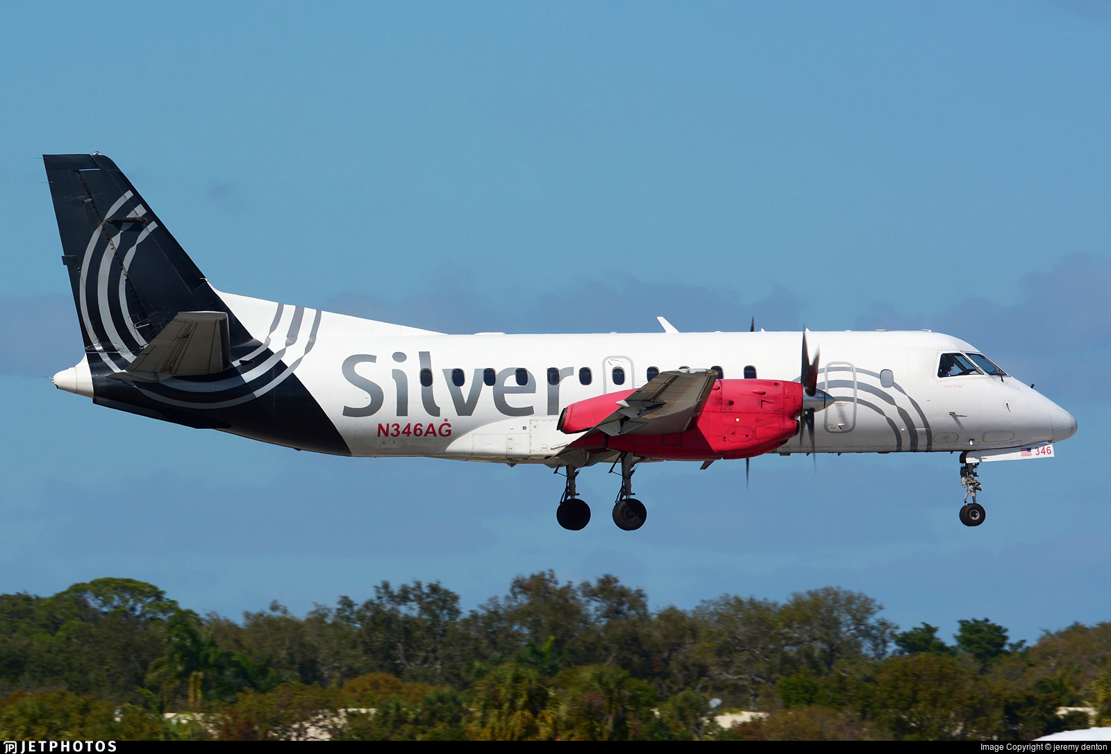 N346AG - Saab 340B - Silver Airways
