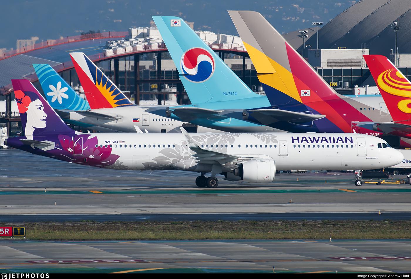 N205HA - Airbus A321-271N - Hawaiian Airlines