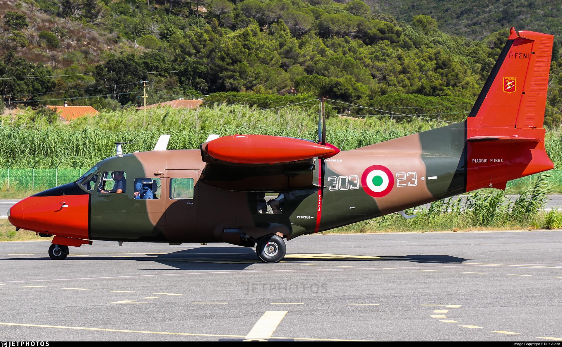 I-FENI - Piaggio P-166C - Private