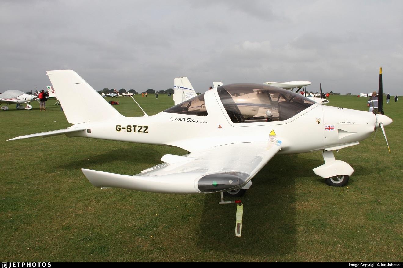 G-STZZ - TL Ultralight TL-2000 Sting Carbon - Private