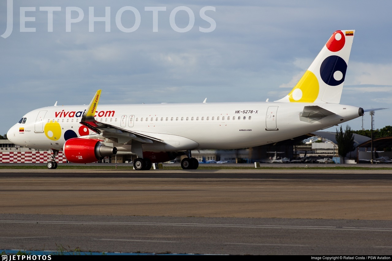 HK-5278-X - Airbus A320-214 - Viva Air Colombia
