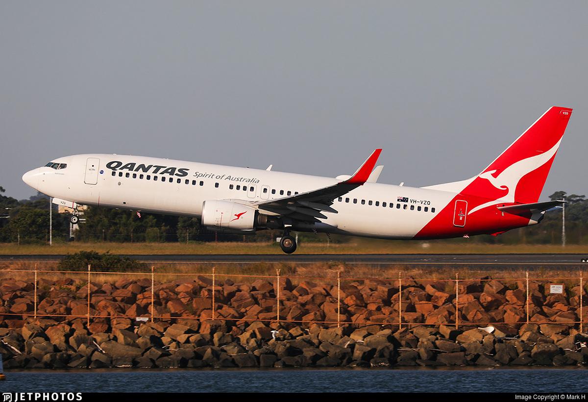 VH-VZQ - Boeing 737-838 - Qantas