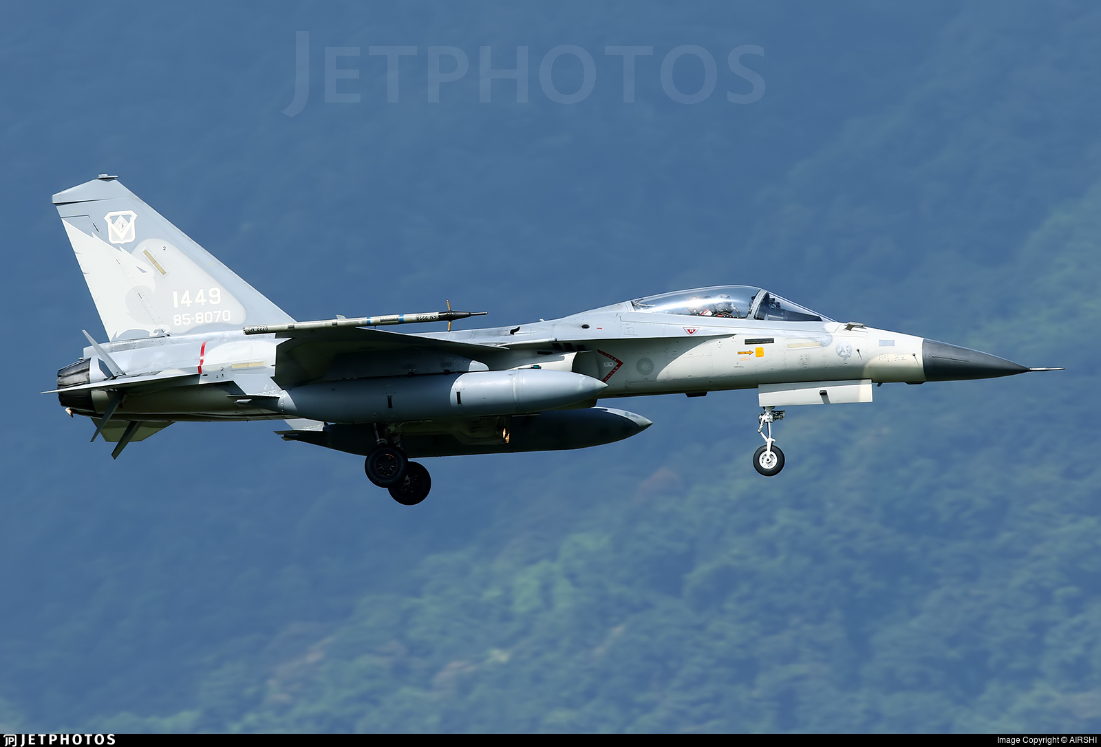 1449 - AIDC F-CK-1C Ching Kuo - Taiwan - Air Force