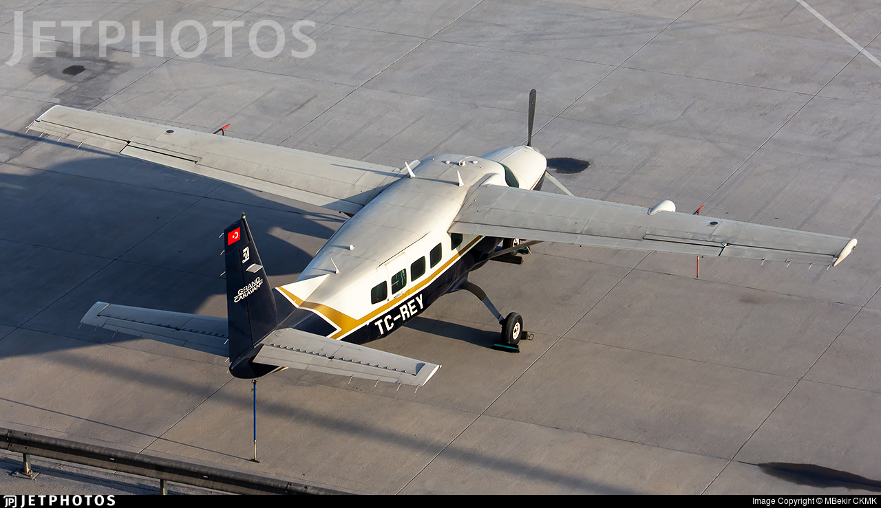 TC-REY - Cessna 208B Grand Caravan EX - Private