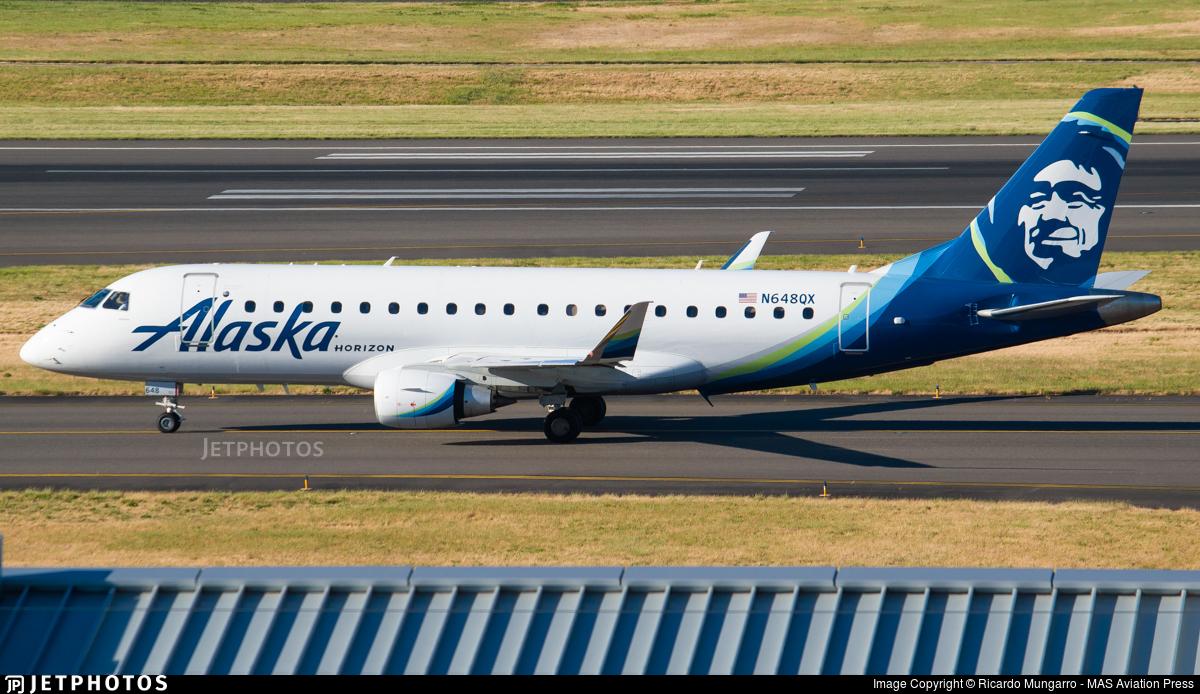 N648QX - Embraer 170-200LR - Alaska Airlines (Horizon Air)
