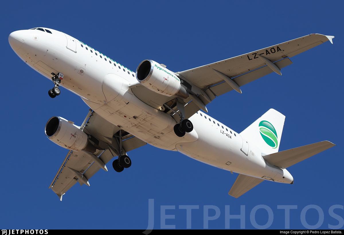 LZ-AOA - Airbus A319-111 - Germania