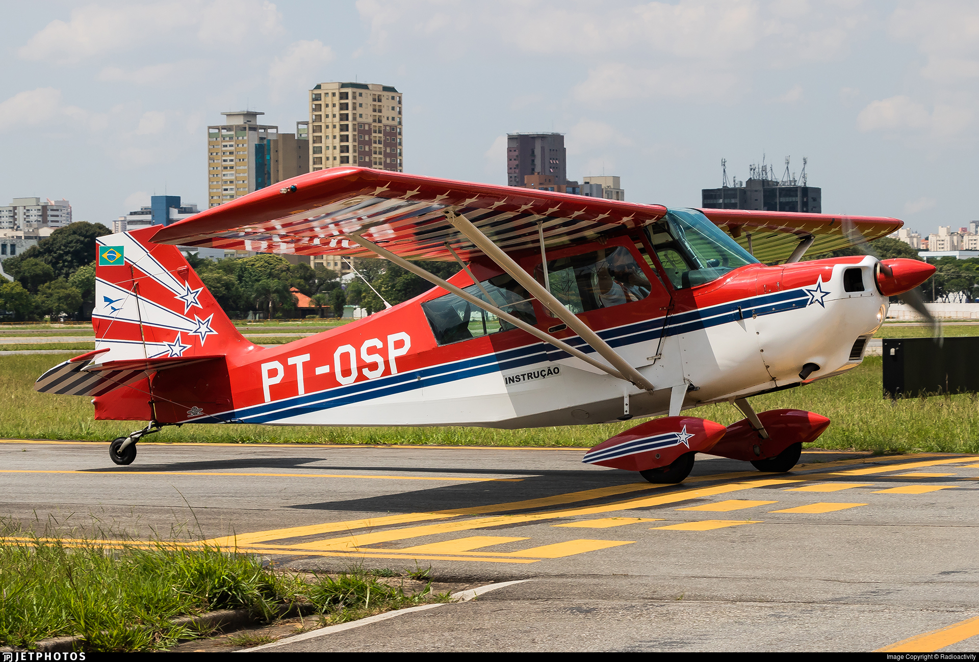 PT-OSP - Bellanca 8KCAB Decathlon - Aeroclube de São Paulo