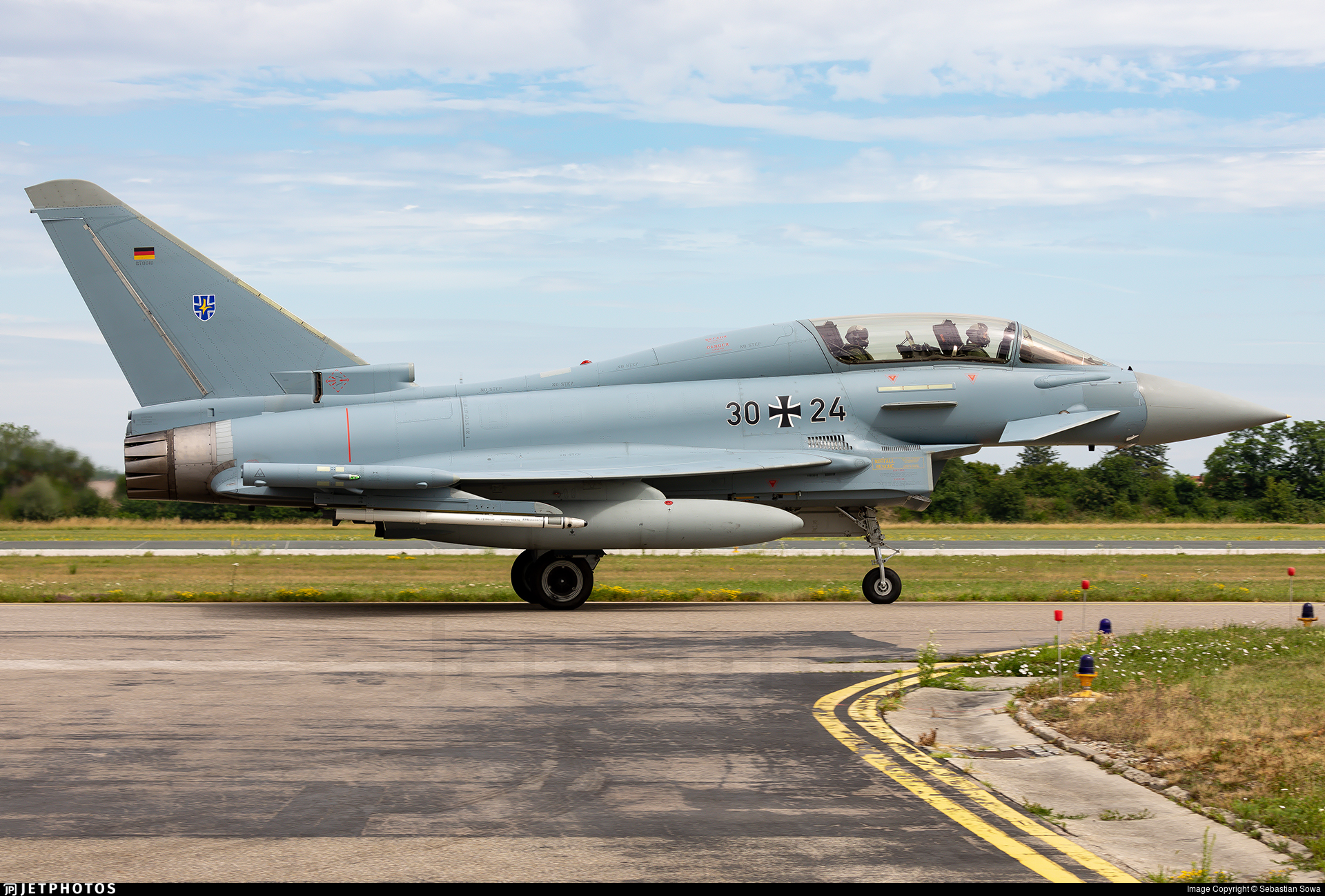 30-24 - Eurofighter Typhoon EF2000(T) - Germany - Air Force