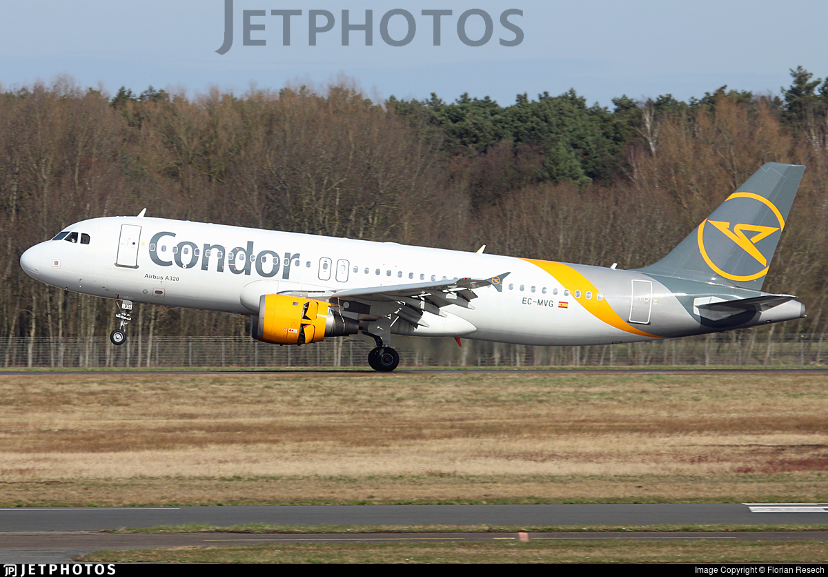 EC-MVG - Airbus A320-212 - Condor