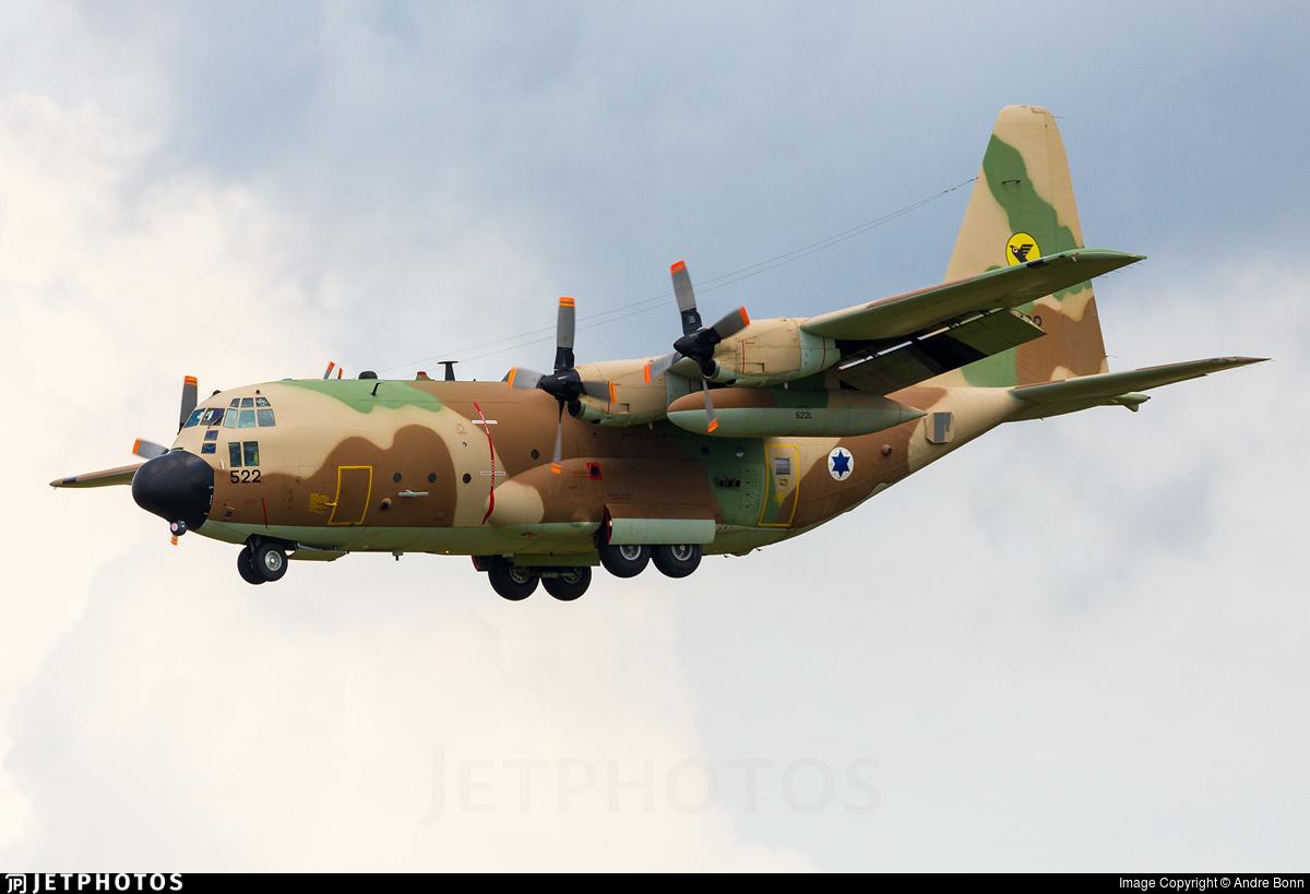 522 - Lockheed KC-130H Karnaf - Israel - Air Force