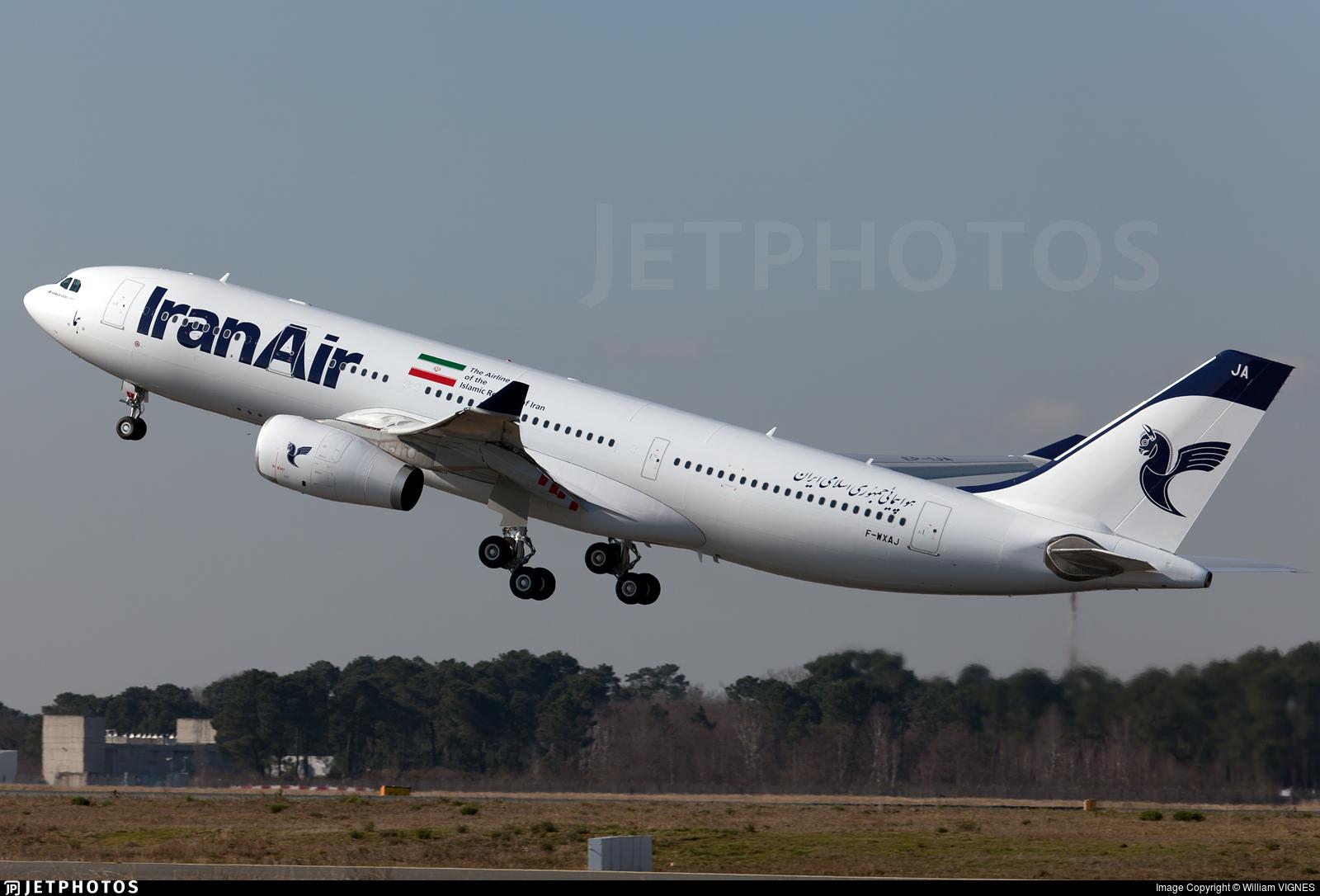 F-WXAJ - Airbus A330-243 - Iran Air