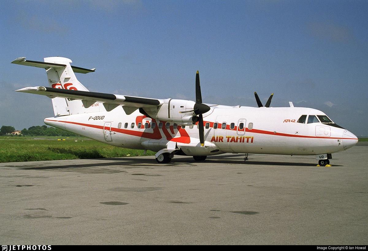 F-ODUD - ATR 42-300 - Air Tahiti