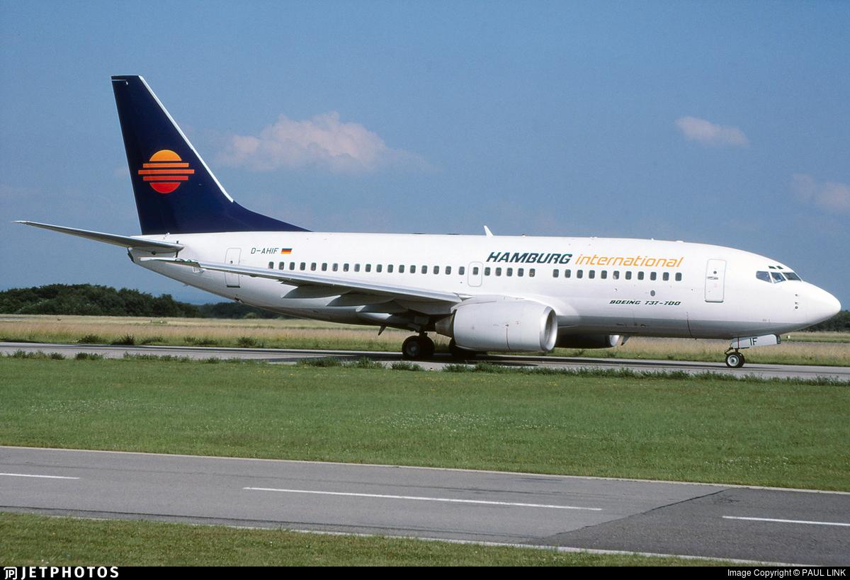 D-AHIF - Boeing 737-73S - Hamburg International