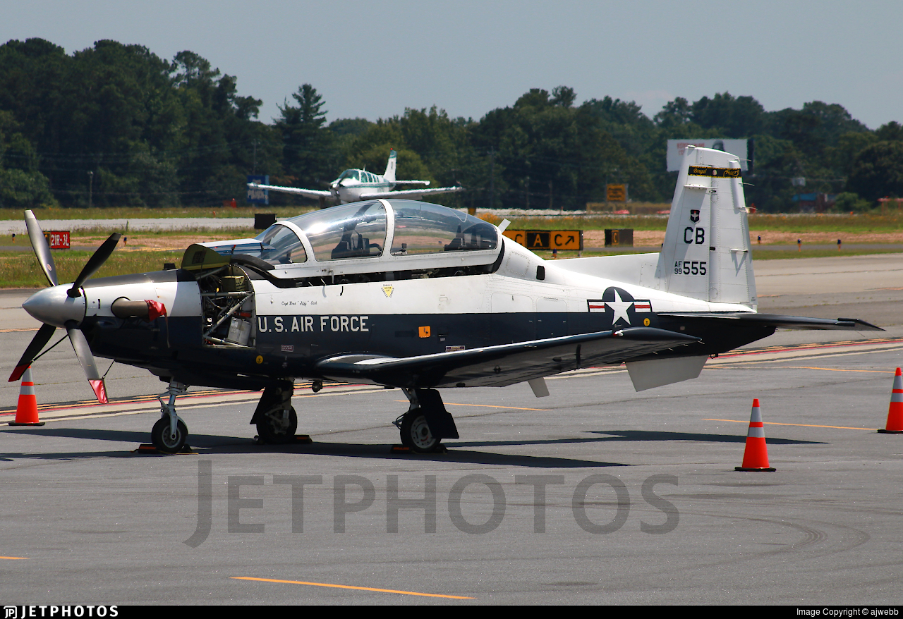99-3555 - Raytheon T-6A Texan II - United States - US Air Force (USAF)